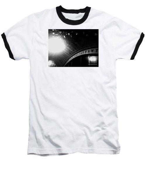Oyster Bar At Grand Central Baseball T-Shirt by James Aiken