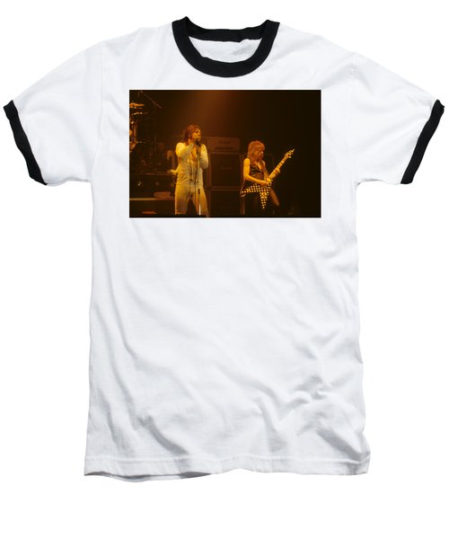 Ozzy Ozbourne And Randy Rhoads Baseball T-Shirt
