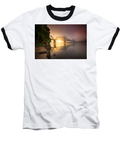 Railroad Bridge Baseball T-Shirt