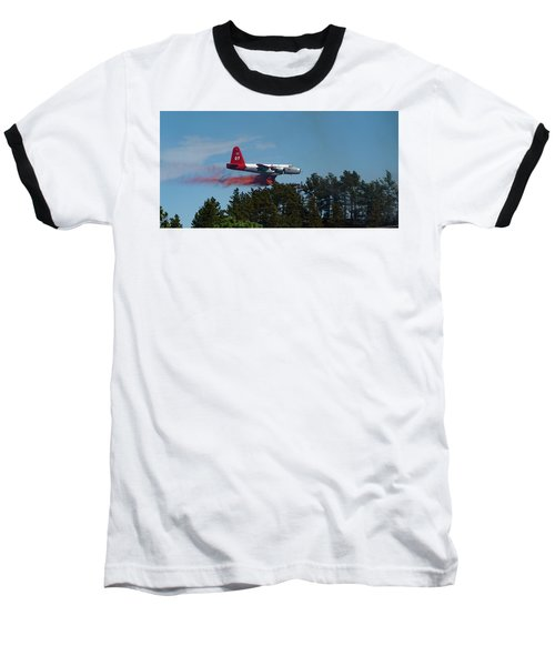 P2v Red Canyon Fire Baseball T-Shirt