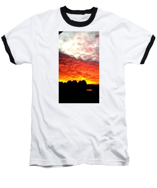 Pacific Coast Skies Baseball T-Shirt