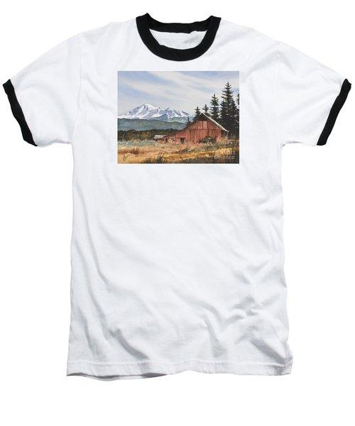 Pacific Northwest Landscape Baseball T-Shirt by James Williamson