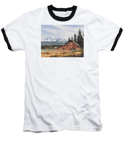 Pacific Northwest Landscape Baseball T-Shirt