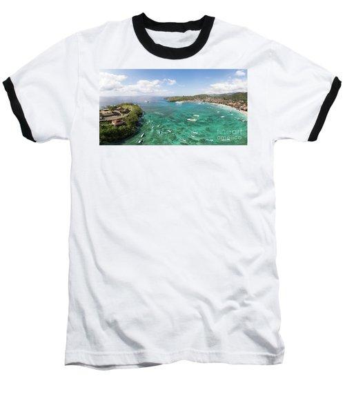 Padang Bai Panorama In Bali Baseball T-Shirt