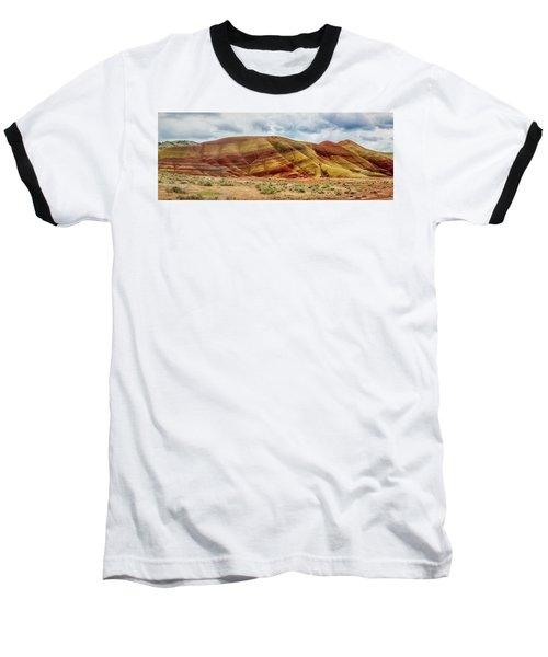Painted Hills Panorama 2 Baseball T-Shirt
