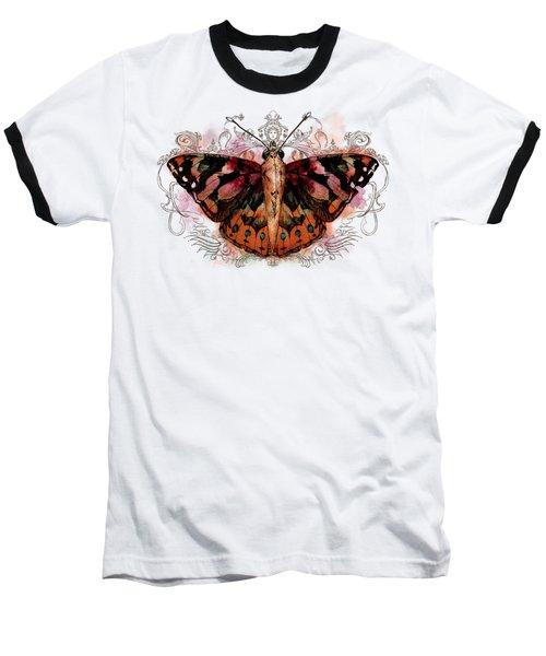 Painted Lady II Baseball T-Shirt