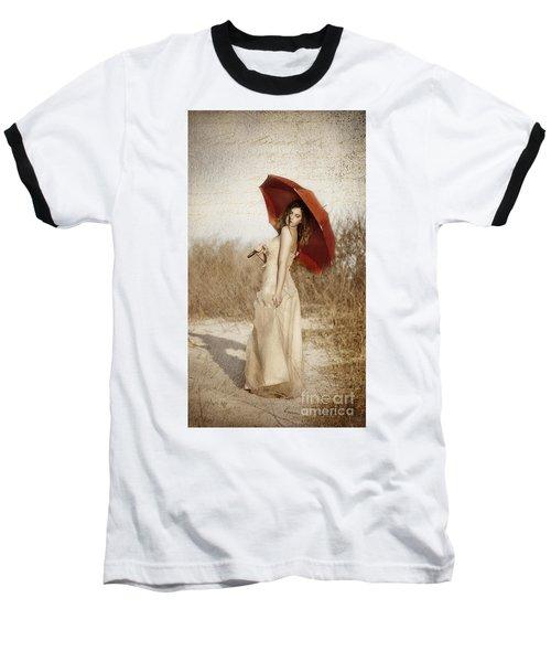 Painted Lady Narrow Baseball T-Shirt