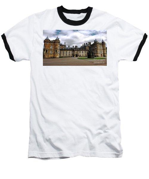 Palace Of Holyroodhouse  Baseball T-Shirt by Judy Palkimas