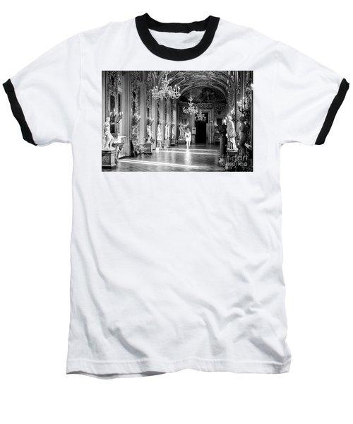 Baseball T-Shirt featuring the photograph Palazzo Doria Pamphilj, Rome Italy by Perry Rodriguez