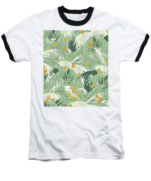 Palm And Gold Baseball T-Shirt