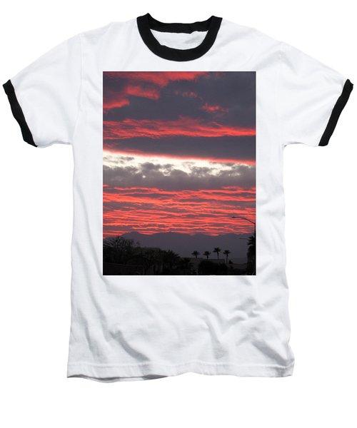 Baseball T-Shirt featuring the photograph Palm Desert Sunset by Phyllis Kaltenbach