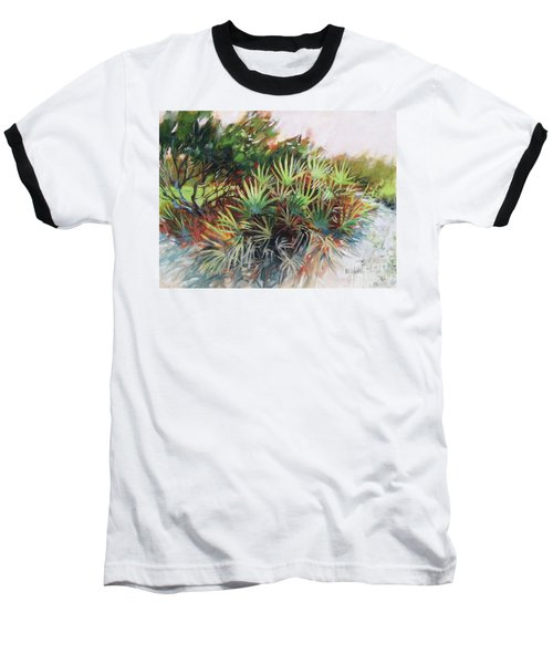 Palmetto Dance Baseball T-Shirt by Mary Hubley