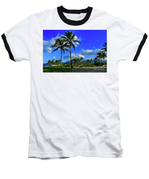 Palms In The Morning Baseball T-Shirt