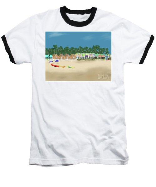 Palolem Beach Goa Baseball T-Shirt