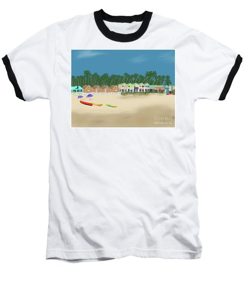 Palolem Beach Goa Baseball T-Shirt