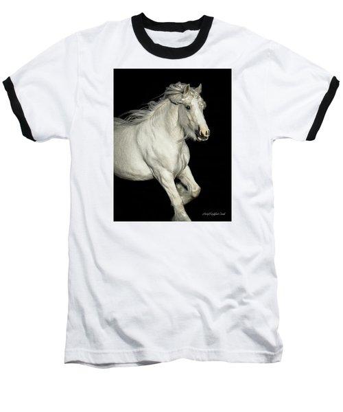 Palomino Portrait Baseball T-Shirt