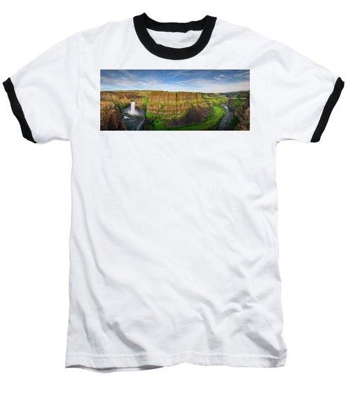 Palouse Falls Canyon Baseball T-Shirt