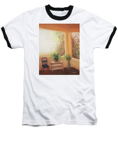 Pancho Come Home Baseball T-Shirt by Irene Corey
