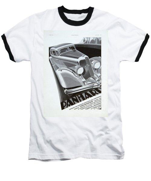 Panhard #8710 Baseball T-Shirt