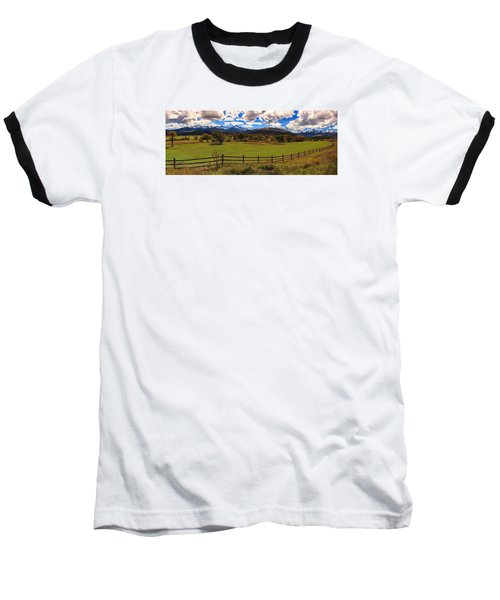 View Of The San Juans Baseball T-Shirt by Rick Furmanek