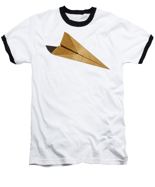 Paper Airplanes Of Wood 15 Baseball T-Shirt by YoPedro
