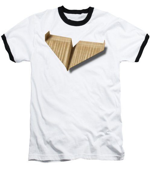 Paper Airplanes Of Wood 8 Baseball T-Shirt by YoPedro