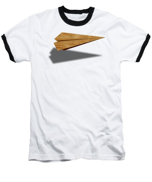Paper Airplanes Of Wood 9 Baseball T-Shirt