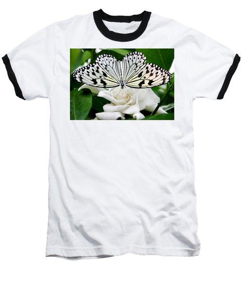 Paperkite On Gardenia Baseball T-Shirt