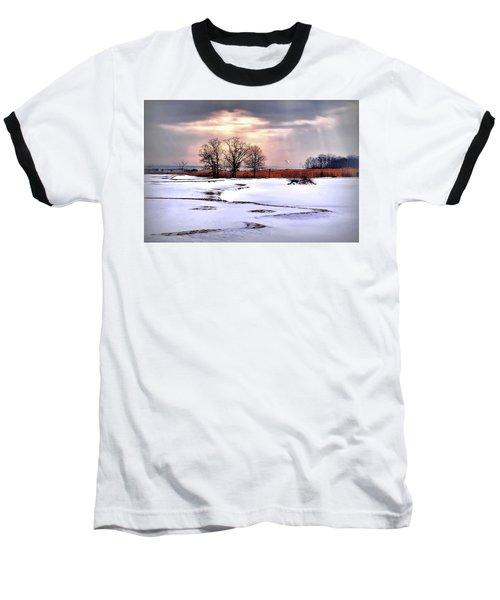 Par For Winter's Course Baseball T-Shirt