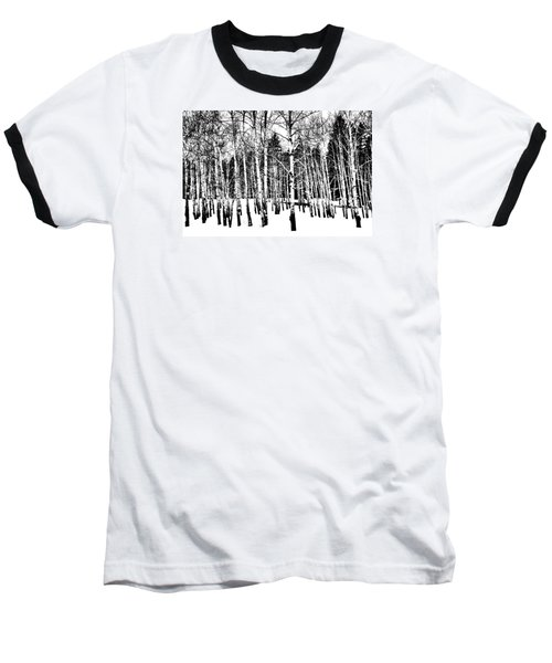 Parade Of Aspens Baseball T-Shirt