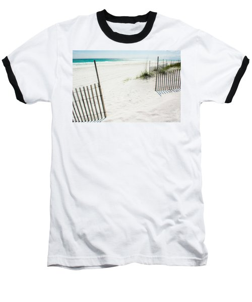 Paradise Scenery Baseball T-Shirt by Shelby  Young