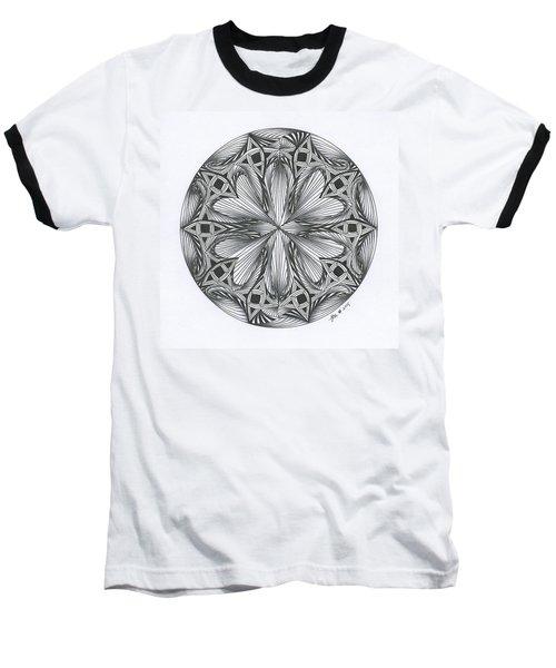 Paradoxical Zendala Baseball T-Shirt