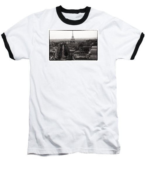 Paris 1966 Baseball T-Shirt by Steve Archbold