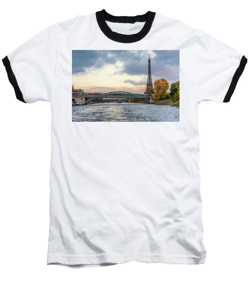 Paris 3 Baseball T-Shirt