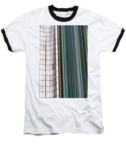 Paris Abstract Baseball T-Shirt by Steven Richman