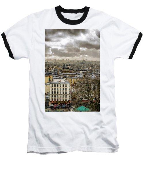 Paris As Seen From The Sacre-coeur Baseball T-Shirt