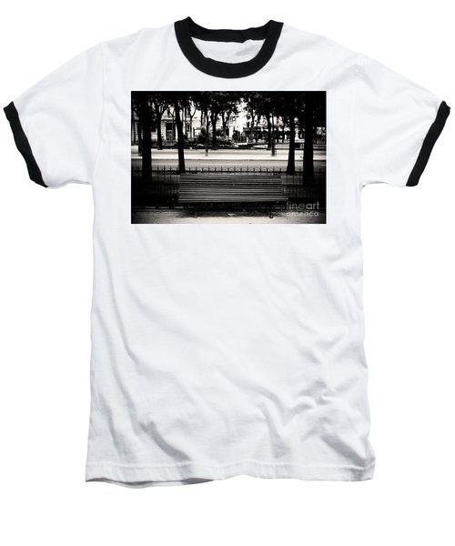 Paris Bench Baseball T-Shirt