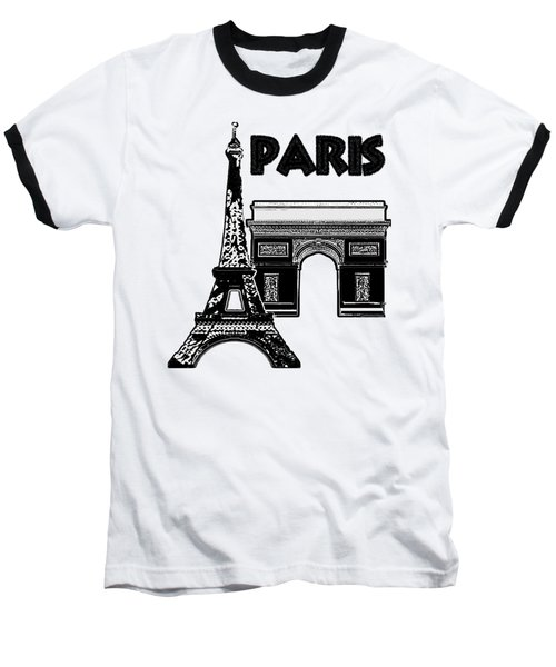Paris Graphique Baseball T-Shirt
