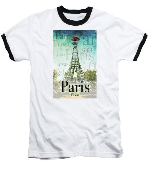 Paris Texas Style Baseball T-Shirt