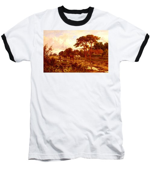 Parker Henry H The End Of The Day Baseball T-Shirt