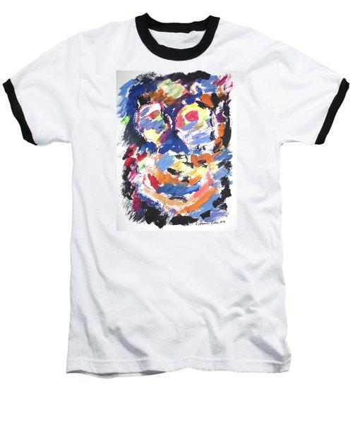 Partial Blackout Baseball T-Shirt