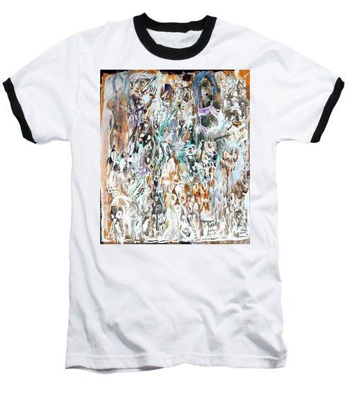 Past Life Trauma Inverted Baseball T-Shirt