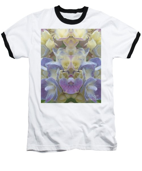 Baseball T-Shirt featuring the photograph Pastel Blooms by Christina Verdgeline