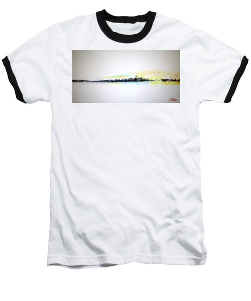 Pastel Morning Baseball T-Shirt