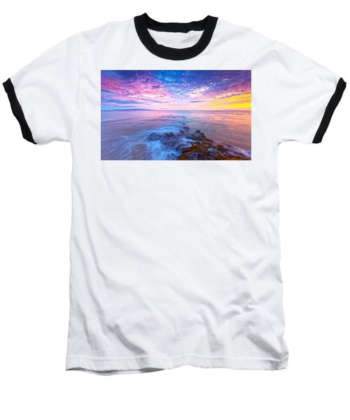 Pastel Skies Baseball T-Shirt