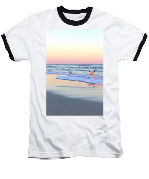 Pastels On Water Baseball T-Shirt