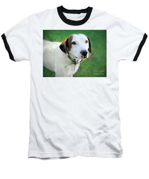 Baseball T-Shirt featuring the photograph ''patch'' by Marion Johnson