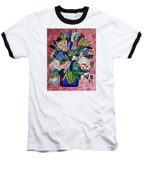 Patchwork Bouquet Baseball T-Shirt