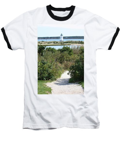 Path To Edgartown Lighthouse Baseball T-Shirt