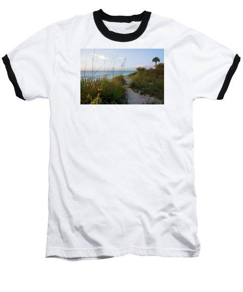 Pathway To Barefoot Beach  In Naples Baseball T-Shirt